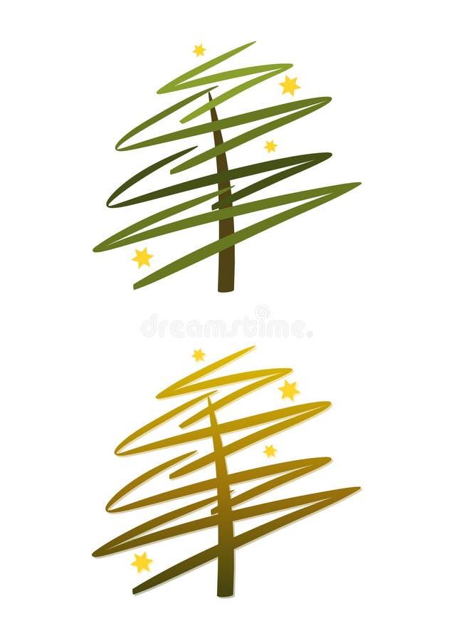 χρυσό πράσινο καθορισμέν&omicron ελεύθερη απεικόνιση δικαιώματος