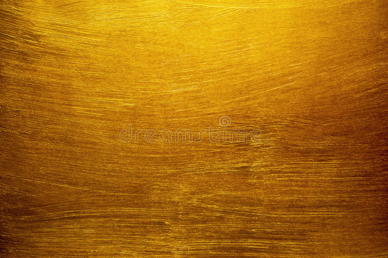 Χρυσό υπόβαθρο σύστασης ζωγραφικής στοκ φωτογραφία με δικαίωμα ελεύθερης χρήσης
