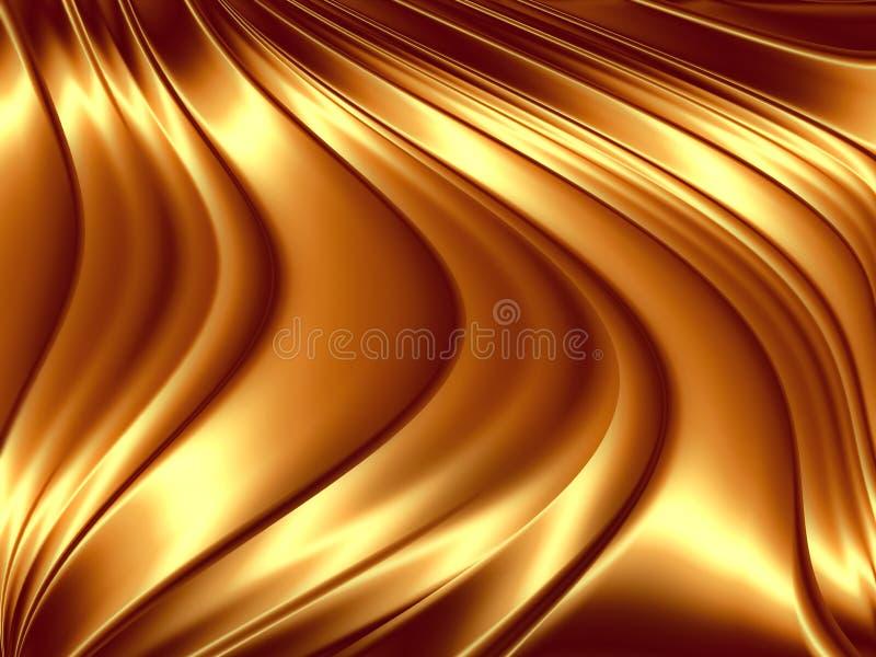 Χρυσό φόντο διανυσματική απεικόνιση