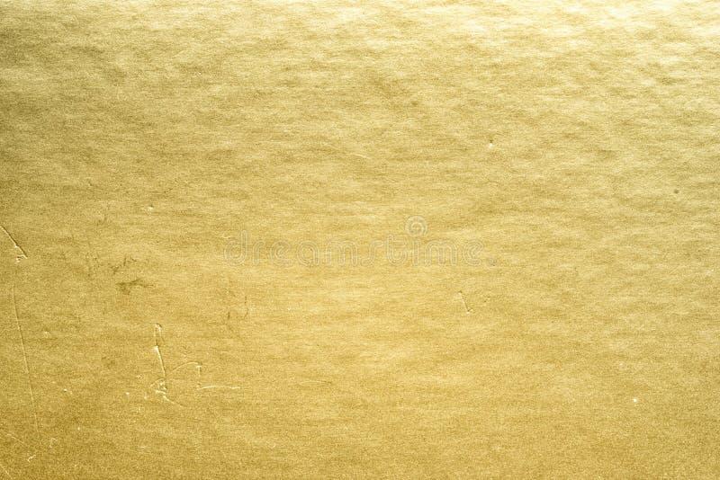 Χρυσό φύλλο αλουμινίου στοκ εικόνες