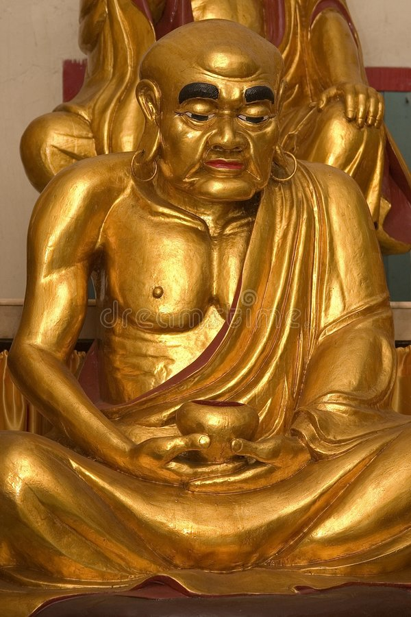 χρυσό lohan άγαλμα στοκ φωτογραφίες με δικαίωμα ελεύθερης χρήσης