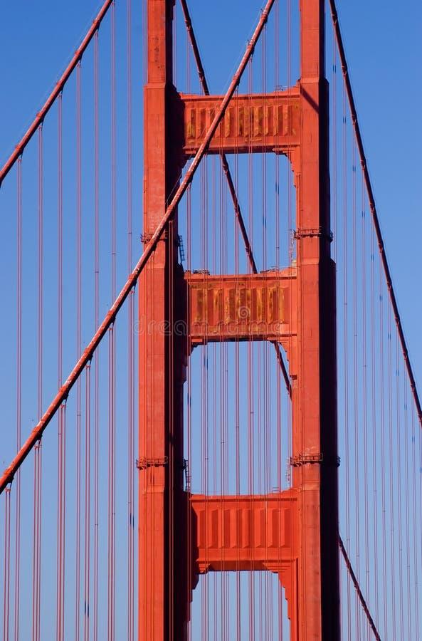 χρυσό pilon SAN πυλών Francisco στοκ φωτογραφίες