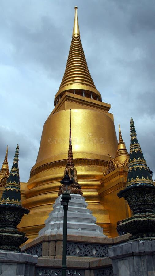Χρυσό Stupa στη Royal Palace Μπανγκόκ στοκ φωτογραφία με δικαίωμα ελεύθερης χρήσης