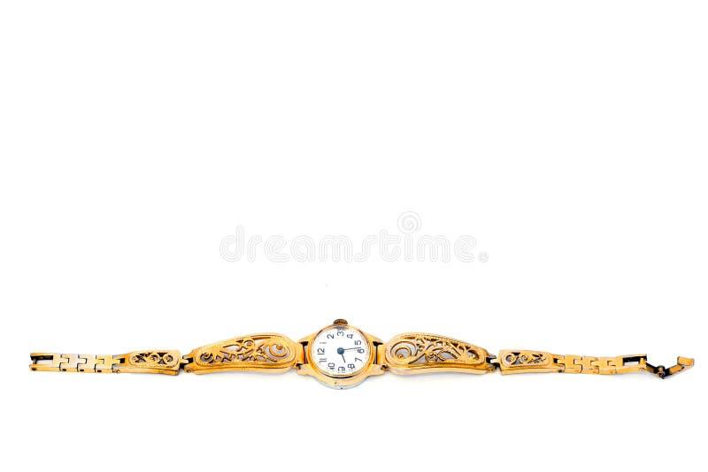 Χρυσό Wristwatches στοκ εικόνες