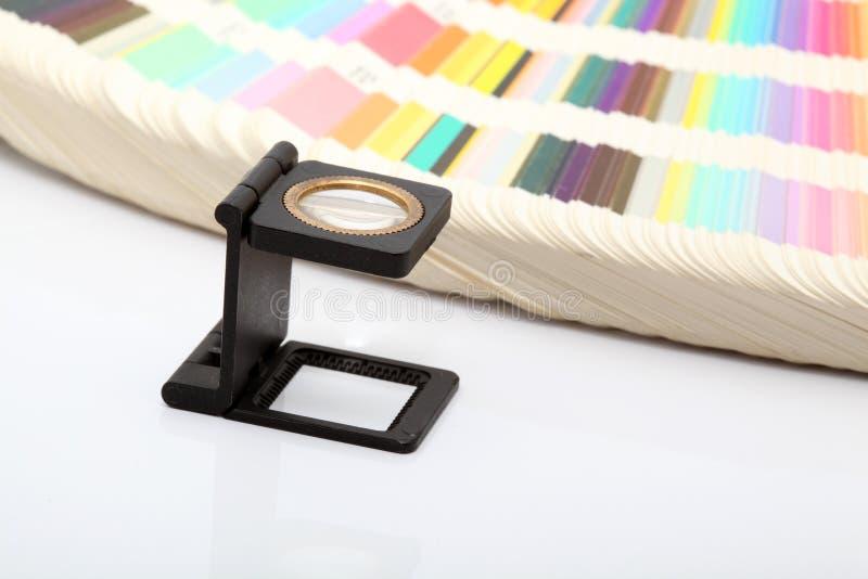 χρωματίζει lense στοκ φωτογραφία