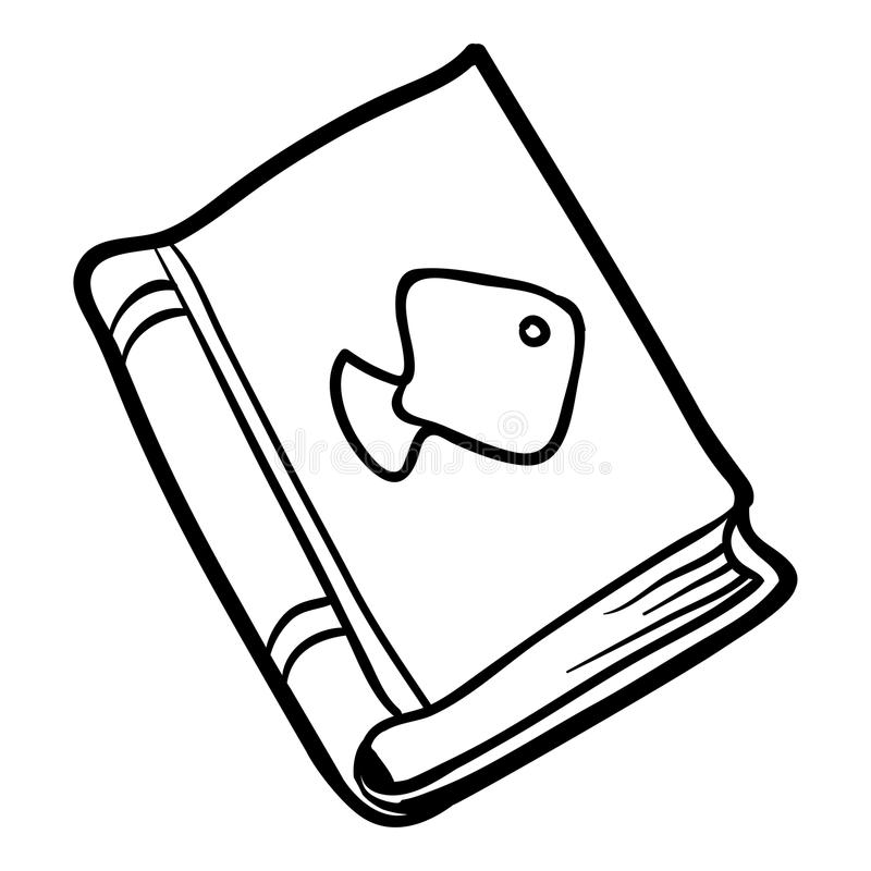 Χρωματίζοντας βιβλίο, εγχειρίδιο απεικόνιση αποθεμάτων