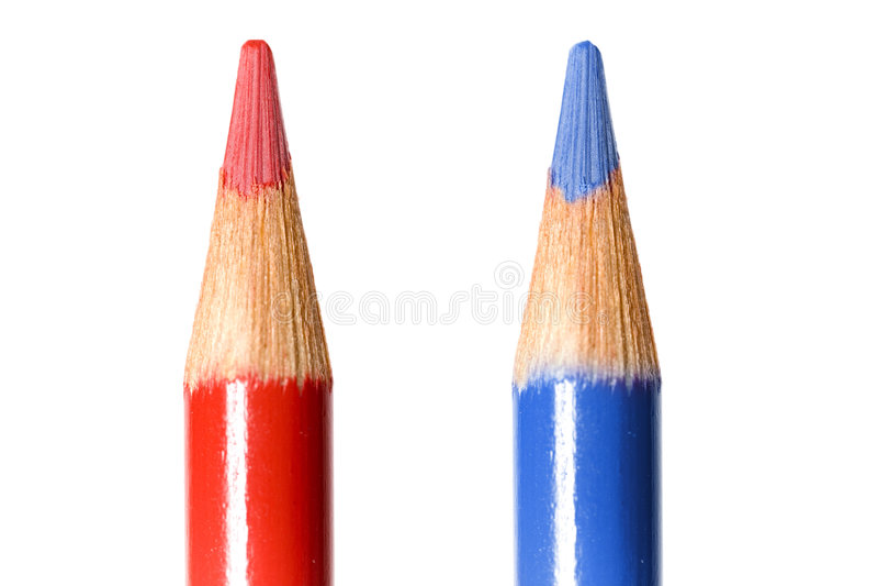 χρωματίζοντας μόλυβδοι στοκ φωτογραφία με δικαίωμα ελεύθερης χρήσης