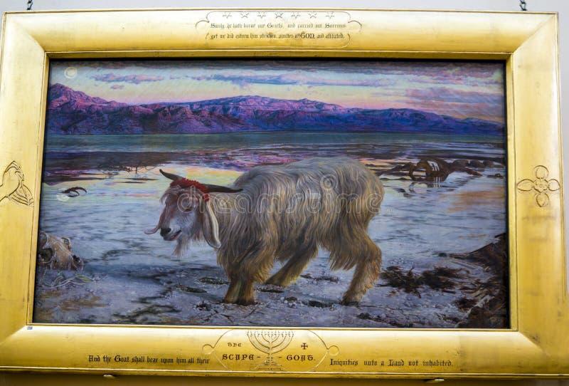 Χρωματίζοντας στην κυρία Lever γκαλερί τέχνης του φωτός του ήλιου λιμένων, που δημιουργείται από το μοχλό του William Hesketh για στοκ φωτογραφία με δικαίωμα ελεύθερης χρήσης