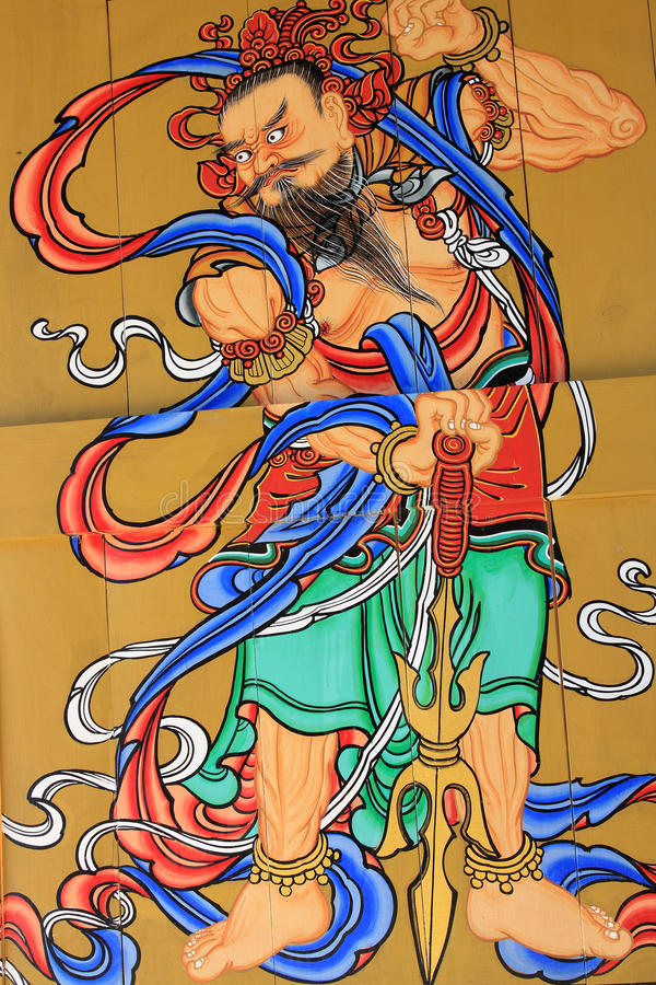 Download χρωματίζοντας τοίχος θρη& στοκ εικόνα. εικόνα από κορέα - 13188343