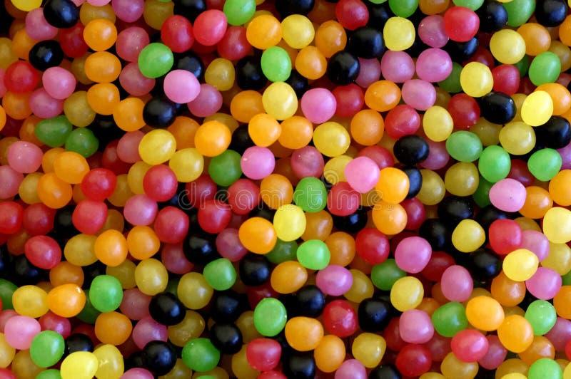 χρωματισμένα γλυκά στοκ φωτογραφία