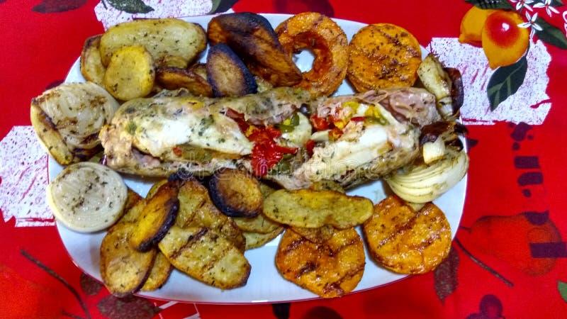 Χρωματισμένα και εύγευστα τρόφιμα στοκ εικόνες