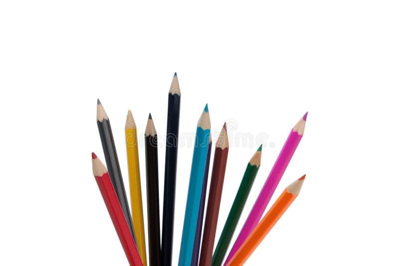 Download χρωματισμένα μολύβια στοκ εικόνα. εικόνα από σχολείο - 22788909