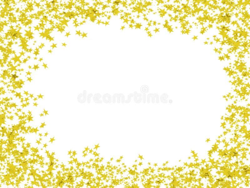 χρωματισμένα πολυ αστέρι&alph απεικόνιση αποθεμάτων