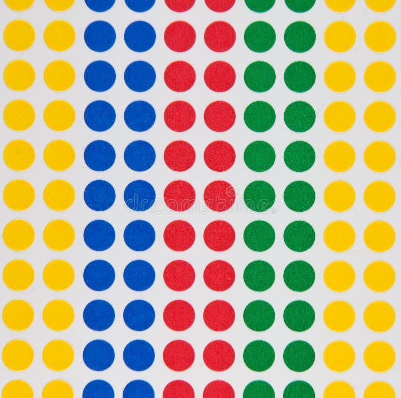 χρωματισμένα σημεία στοκ φωτογραφία με δικαίωμα ελεύθερης χρήσης