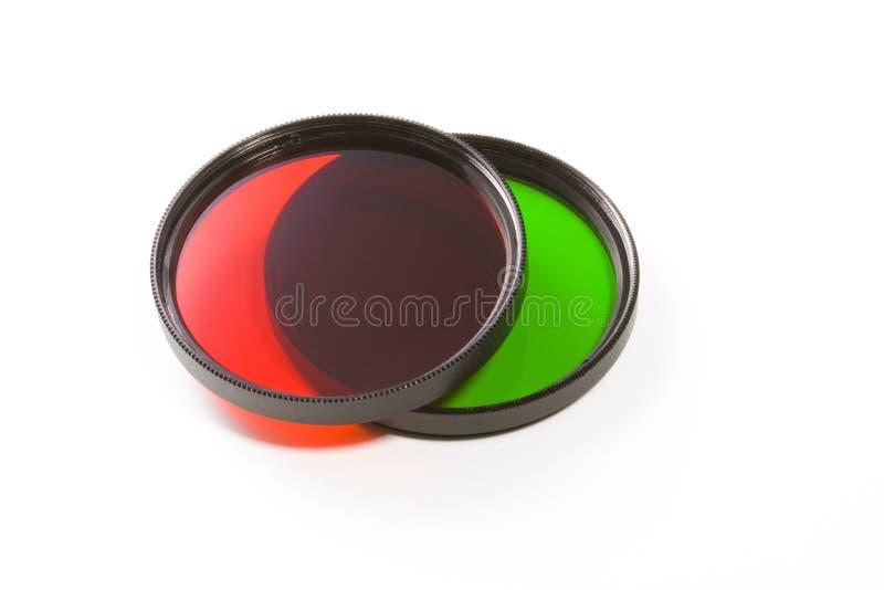 χρωματισμένα φίλτρα στοκ φωτογραφία