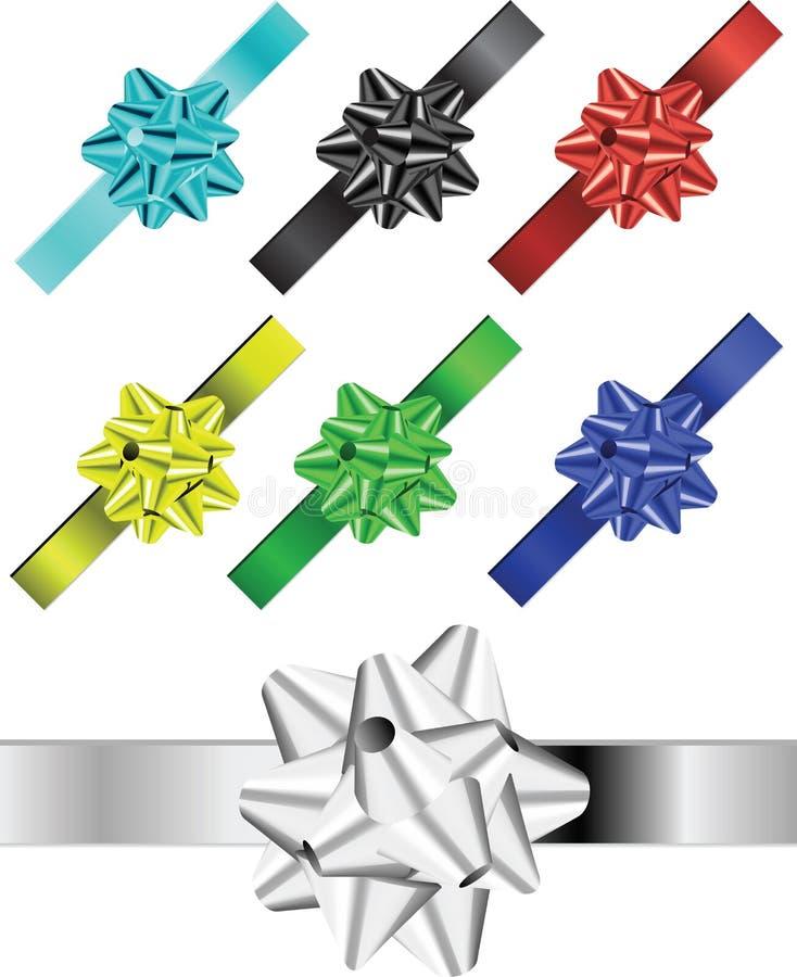 χρωματισμένες κορδέλλε&si στοκ φωτογραφίες με δικαίωμα ελεύθερης χρήσης