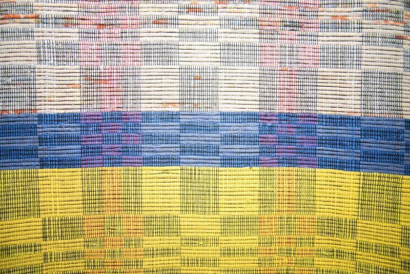 Χρωματισμένες ρωσικές κουβέρτες στοκ φωτογραφία με δικαίωμα ελεύθερης χρήσης
