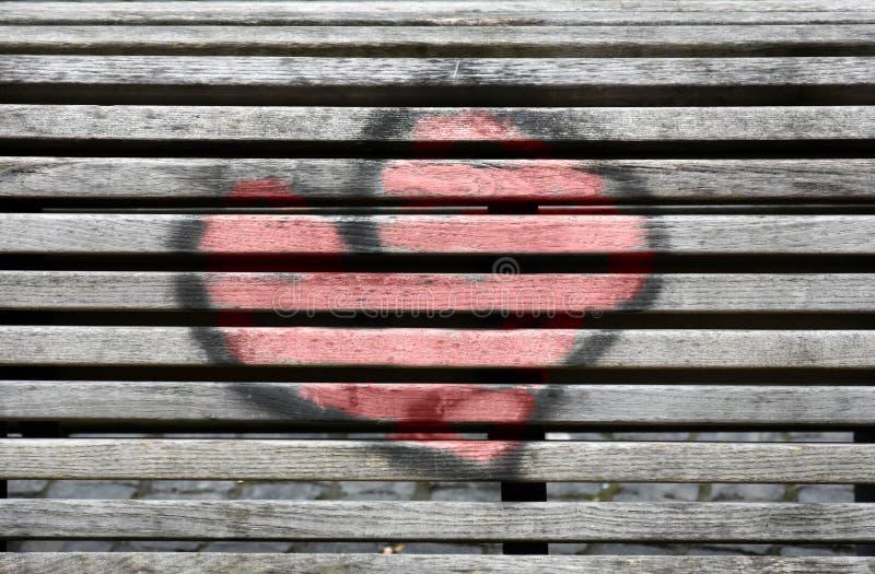 Χρωματισμένη καρδιά στοκ εικόνες