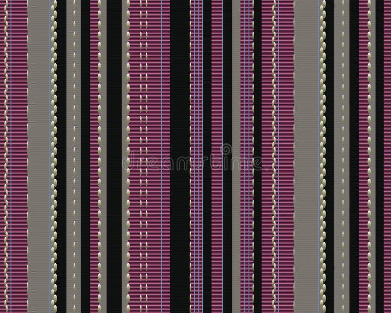 χρωματισμένη κατακόρυφος σύστασης λουρίδων υφάσματος ελεύθερη απεικόνιση δικαιώματος