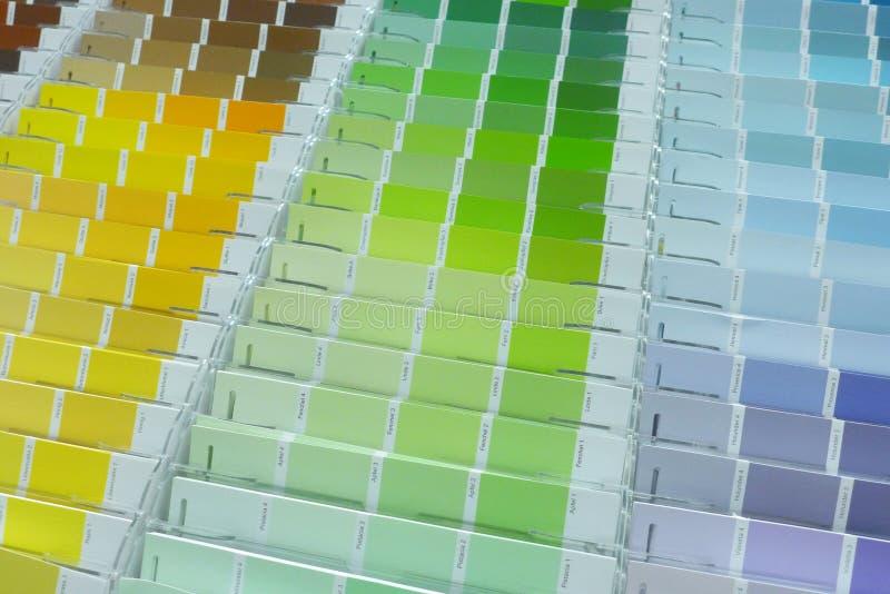 Χρωματισμένη παλέτα στοκ φωτογραφία