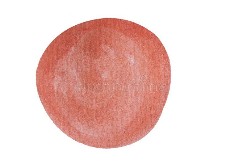 Χρωματισμένη χέρι σταγόνα μελανιού Συρμένος χέρι grunge κύκλος : στοκ εικόνες με δικαίωμα ελεύθερης χρήσης