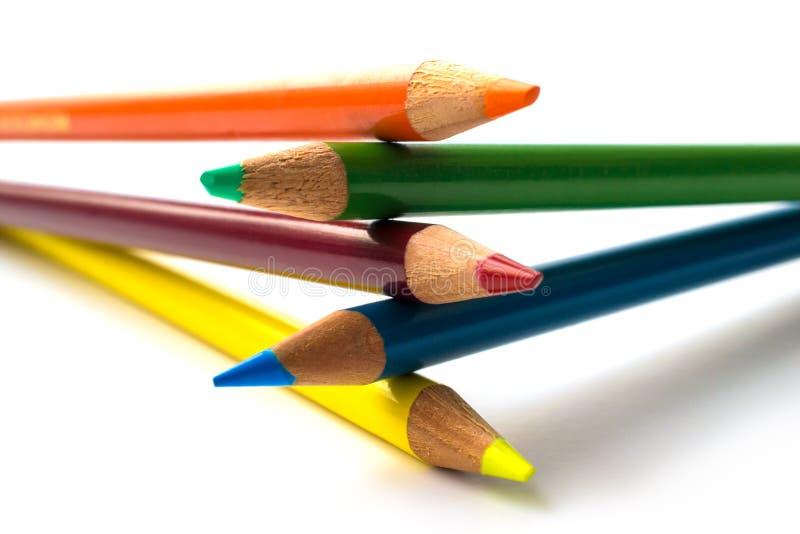 χρωματισμένη eachother συσσωρε&upsilon στοκ εικόνα