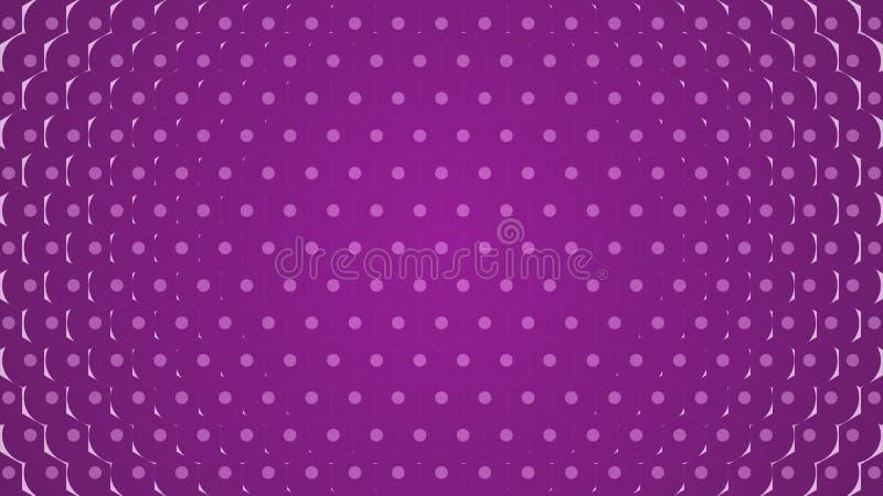 Χρωματισμένοι διαφορετικοί κύκλοι Υπόβαθρο των διαφορετικών μεγεθών των κύκλων των διαφορετικών σκιών του ίδιου χρώματος διανυσματική απεικόνιση