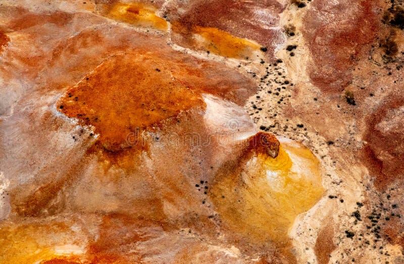 Χρωματισμένοι κολπίσκος λόφοι της Anna, Νότια Αυστραλία, Αυστραλία στοκ φωτογραφία με δικαίωμα ελεύθερης χρήσης