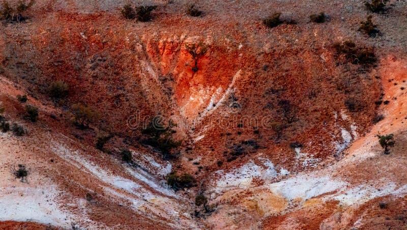 Χρωματισμένοι κολπίσκος λόφοι της Anna, Νότια Αυστραλία, Αυστραλία στοκ εικόνες