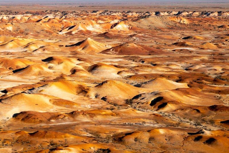 Χρωματισμένοι κολπίσκος λόφοι της Anna, Νότια Αυστραλία, Αυστραλία στοκ εικόνα με δικαίωμα ελεύθερης χρήσης