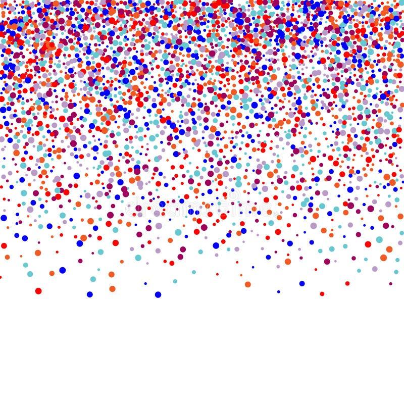 Χρωματισμένοι στρογγυλοί αριθμοί Ο χρυσός, τρεμούλιασμα, λάμπει Διακοπές, μια πρόσκληση E r έναστρος ουρανός EPS ελεύθερη απεικόνιση δικαιώματος