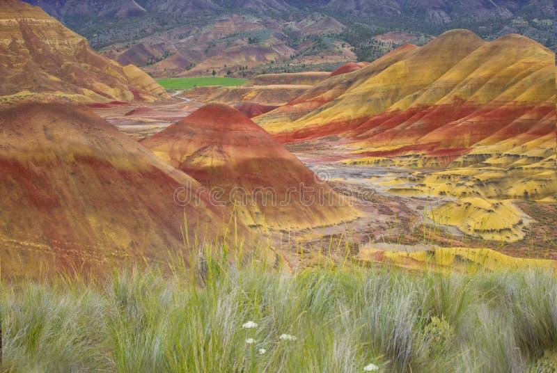 Χρωματισμένοι λόφοι στοκ φωτογραφίες με δικαίωμα ελεύθερης χρήσης