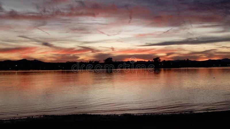 χρωματισμένος ουρανός στοκ εικόνα με δικαίωμα ελεύθερης χρήσης