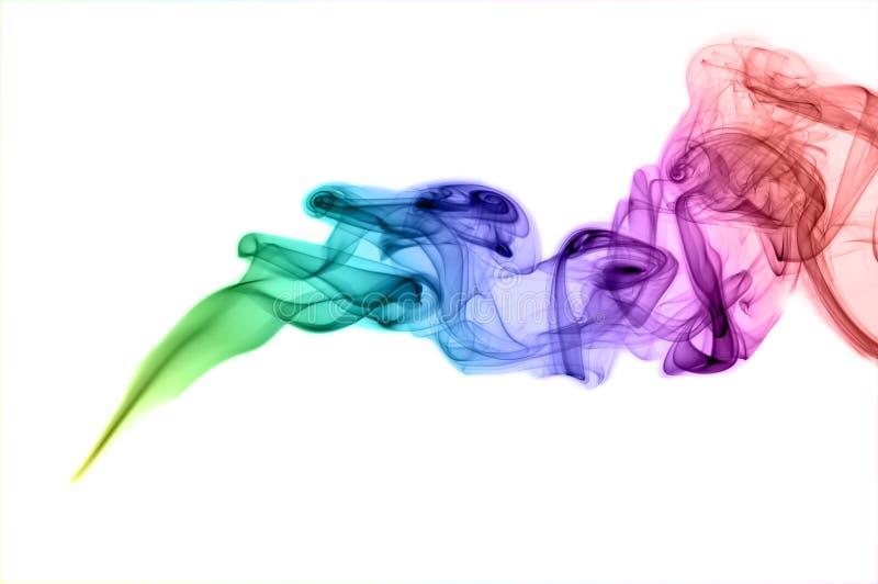 χρωματισμένος περίληψη καπνός στοκ εικόνες με δικαίωμα ελεύθερης χρήσης