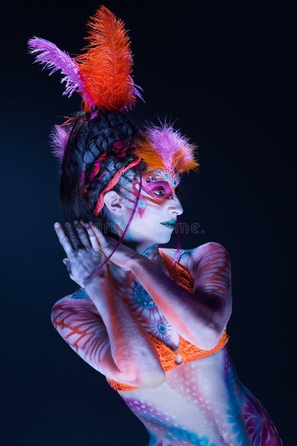 Χρωματισμένος την κυρία BB144345 στοκ φωτογραφία με δικαίωμα ελεύθερης χρήσης