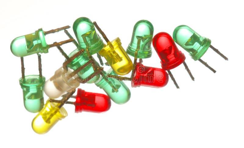 χρωματισμένος leds πολυ στοκ εικόνες με δικαίωμα ελεύθερης χρήσης