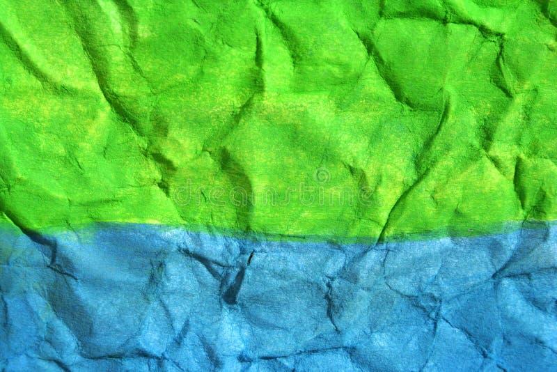 χρωματισμένο έγγραφο στοκ φωτογραφία