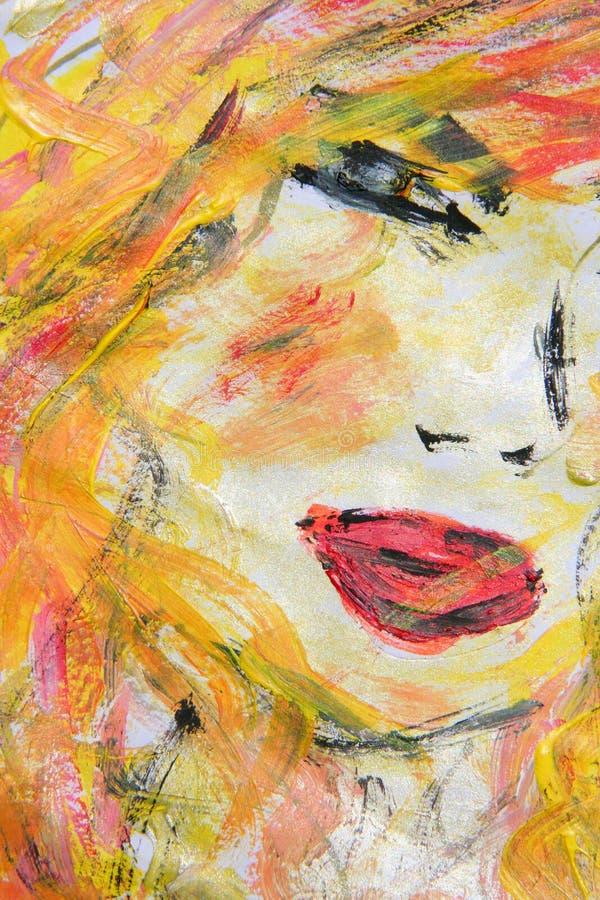 χρωματισμένο έργο τέχνης έγγραφο στοκ φωτογραφία