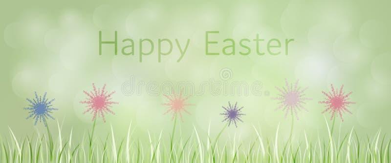 χρωματισμένο ανασκόπηση Πάσχας αυγών eps8 διάνυσμα τουλιπών μορφής κόκκινο διανυσματική απεικόνιση