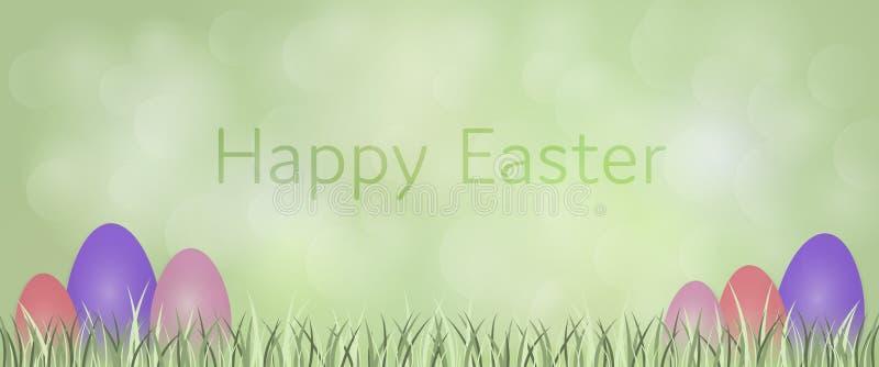 χρωματισμένο ανασκόπηση Πάσχας αυγών eps8 διάνυσμα τουλιπών μορφής κόκκινο ελεύθερη απεικόνιση δικαιώματος