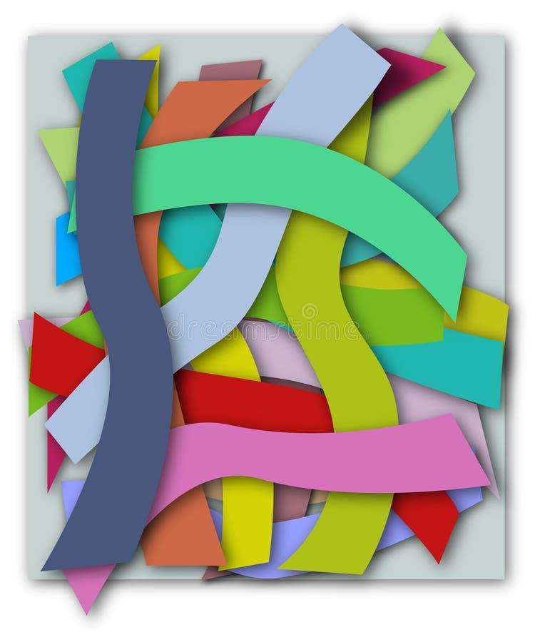 χρωματισμένο ανασκόπηση parti απεικόνιση αποθεμάτων