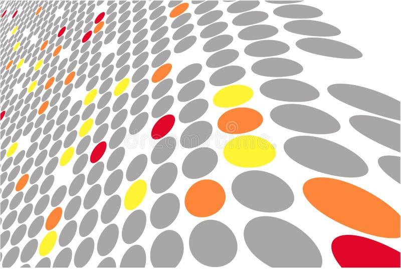 χρωματισμένο διανυσματι&ka διανυσματική απεικόνιση