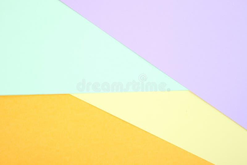 Χρωματισμένο κρητιδογραφία έγγραφο στοκ εικόνα