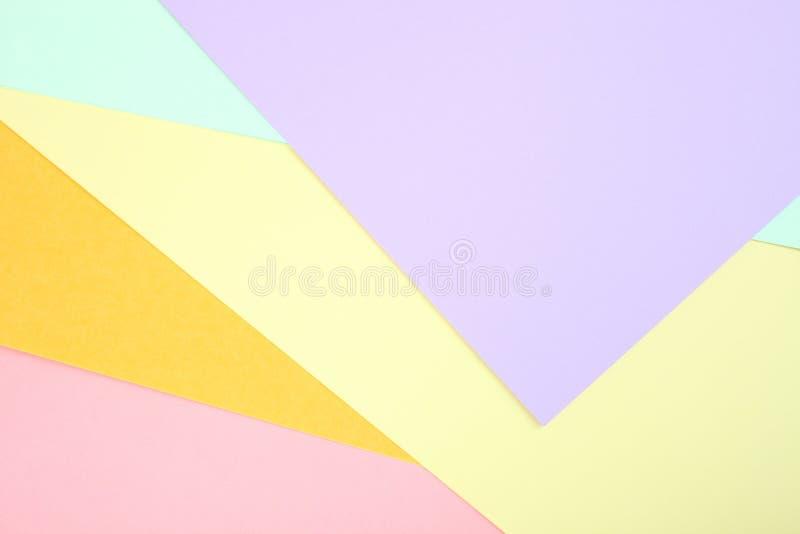 Χρωματισμένο κρητιδογραφία έγγραφο στοκ εικόνες με δικαίωμα ελεύθερης χρήσης