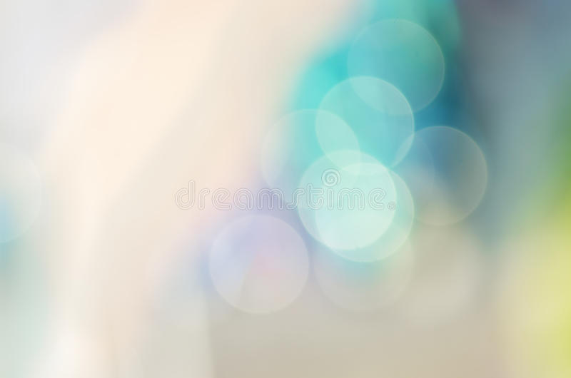 Χρωματισμένο κρητιδογραφία Bokeh στοκ εικόνες