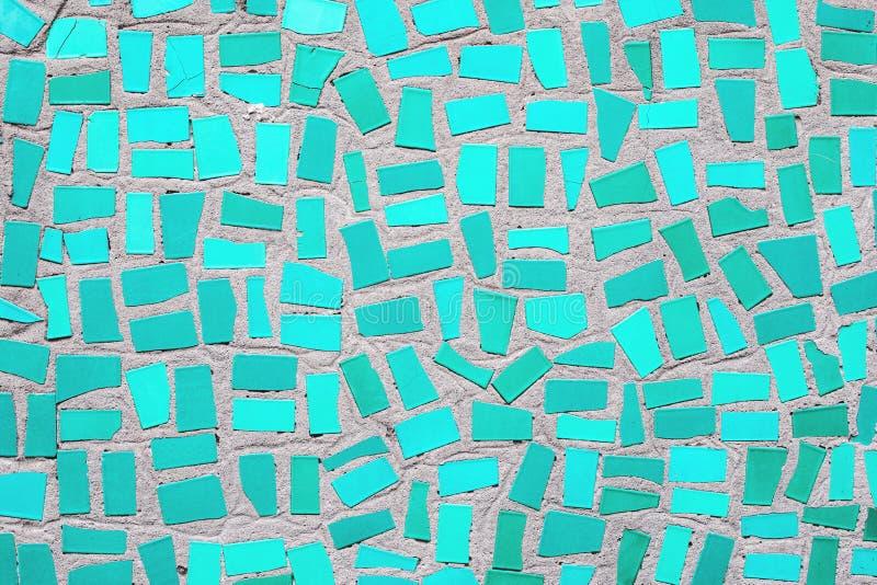 χρωματισμένο μέντα ουδέτερο υπόβαθρο κεραμικών κεραμιδιών μωσαϊκών στοκ φωτογραφία
