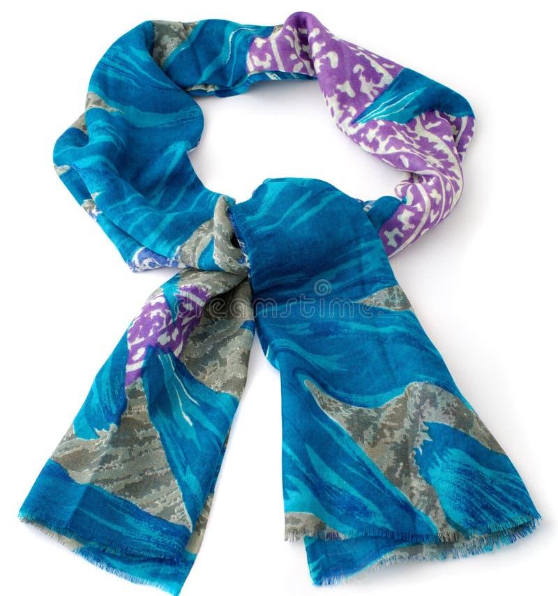 Χρωματισμένο μαντίλι ή pashmina στοκ εικόνες