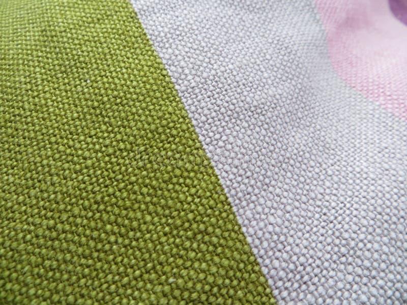 Χρωματισμένο μαξιλάρι βαμβακιού στοκ εικόνες