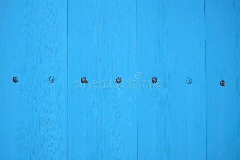 Χρωματισμένο μπλε χρωματισμένο ξύλινο υπόβαθρο, ξύλινο υπόβαθρο κρητιδογραφιών για το σχέδιο στοκ φωτογραφία με δικαίωμα ελεύθερης χρήσης