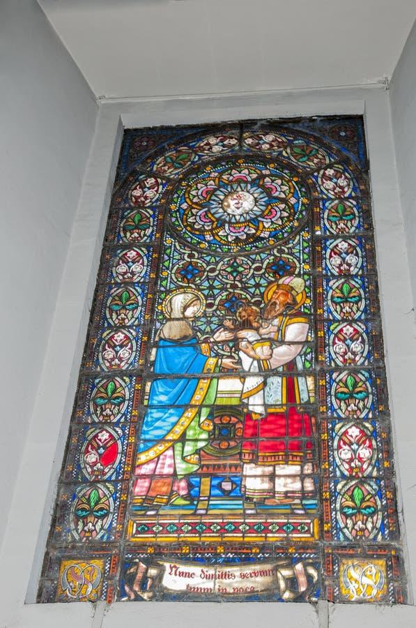 Χρωματισμένο παράθυρο στοκ φωτογραφία